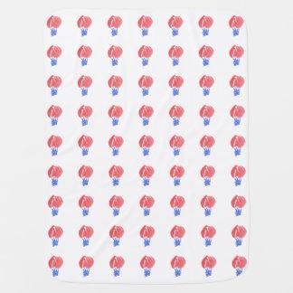 Couverture de bébé de ballons à air