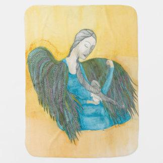 Couverture de bébé de colombe d'ange
