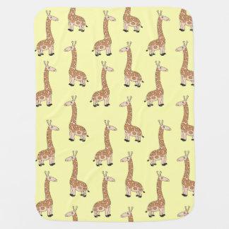 Couverture de bébé de girafe