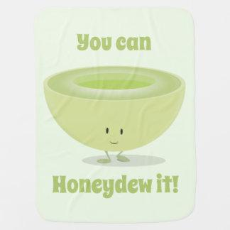 Couverture de bébé de l'encouragement   de miellée