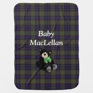 Couverture de bébé de plaid de tartan de MacLell