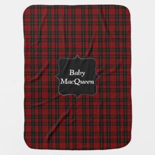 Couverture de bébé de plaid de tartan de MacQuee