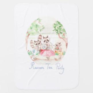 """Couverture de bébé """"de thé de raton laveur"""""""