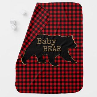 Couverture de bébé d'ours de bébé d'ours
