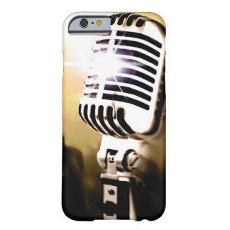 Couverture de caisse de microphone coque iPhone 6 barely there