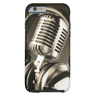 Couverture de caisse de microphone et d'écouteur coque iPhone 6 tough