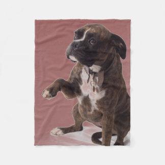 Couverture de chien de boxeur