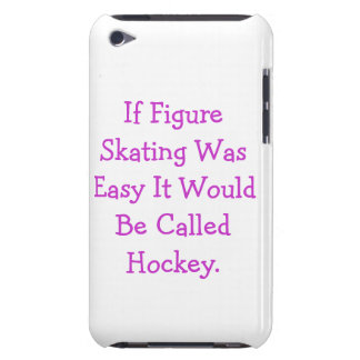 couverture de contact d'iPod 'si le patinage Coque Barely There iPod