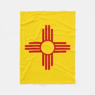 Couverture de drapeau du Nouveau Mexique