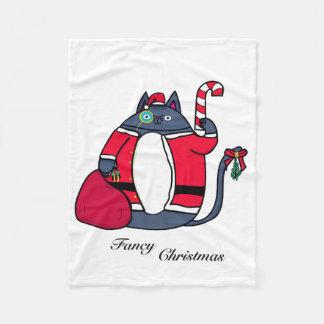 Couverture de fantaisie d'ouatine de Noël