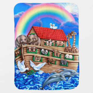 Couverture de l'arche de Noé Couvertures Pour Bébé