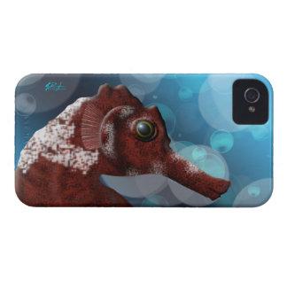 Couverture de l'iPhone 4/4S d'hippocampe et de bul Coque iPhone 4