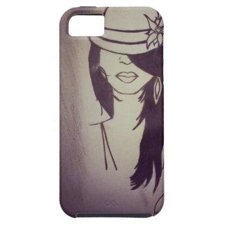 Couverture de l'iPhone 5 de fille de mode - Coques iPhone 5 Case-Mate