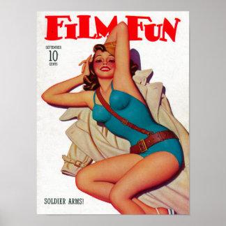 Couverture de magazine d'amusement de film 10 posters