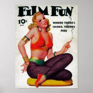 Couverture de magazine d'amusement de film 11 posters
