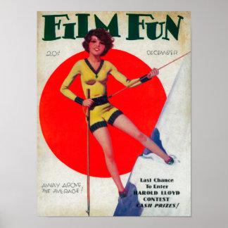 Couverture de magazine d'amusement de film 3 posters