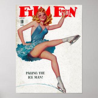 Couverture de magazine d'amusement de film 7 posters