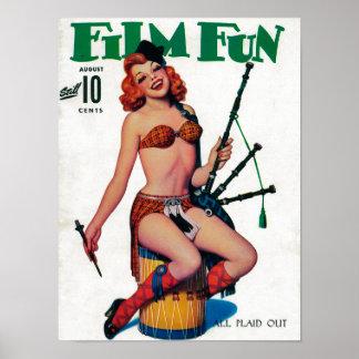 Couverture de magazine d'amusement de film 8 posters