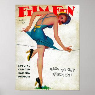 Couverture de magazine d'amusement de film 9 posters