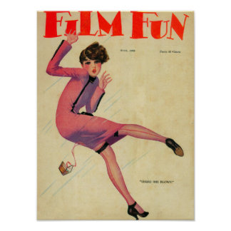 Couverture de magazine d'amusement de film posters