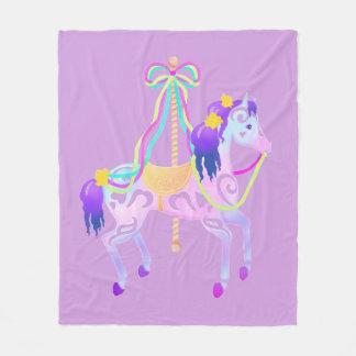 Couverture de milieu de cheval de carrousel