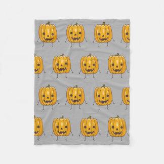 Couverture de motif de citrouille de Halloween