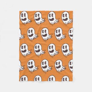 Couverture de motif de fantôme de Halloween