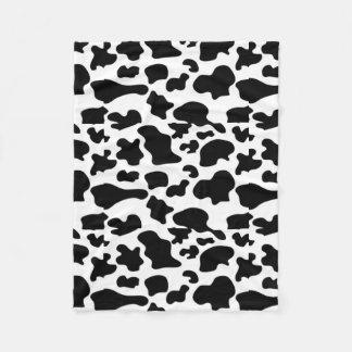 Couverture de motif de vache