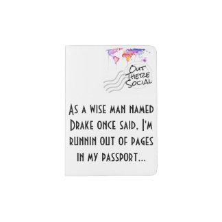 Couverture de passeport de Drake Protège-passeport