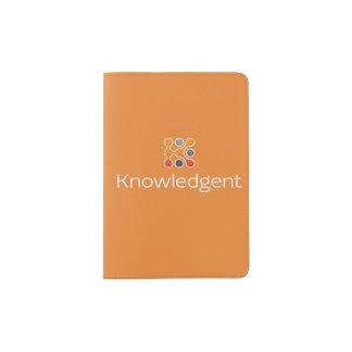 Couverture de passeport de Knowledgent Protège-passeport