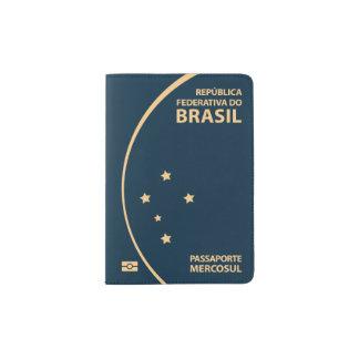Couverture de passeport du Brésil Protège-passeports