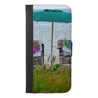 couverture de portefeuille de l'iPhone 6 - vue de