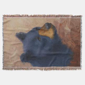 Couverture de portrait d'ours noir