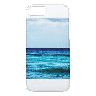 Couverture de téléphone de bord de l'océan coque iPhone 8/7