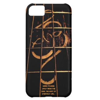 Couverture de téléphone de guitare, marqueterie de coque iPhone 5C