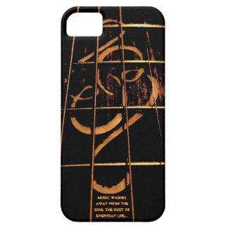 Couverture de téléphone de guitare, marqueterie de coque iPhone 5