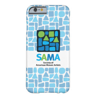 Couverture de téléphone de SAMA - art de mosaïque Coque iPhone 6 Barely There