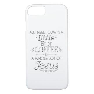 Couverture de téléphone portable de café et de coque iPhone 8/7