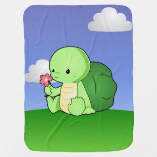 Couverture de tortue couverture de bébé