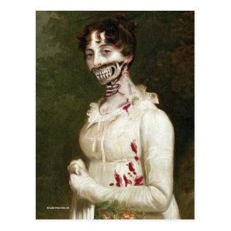 Couverture de zombi carte postale