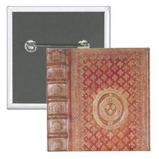 Couverture des travaux de Tacite avec le manteau Badge Carré 5 Cm