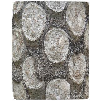 Couverture d'iPad d'arbre de fougère argentée Protection iPad