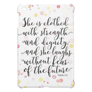 Couverture d'iPad de 31:25 de proverbes Coques Pour iPad Mini