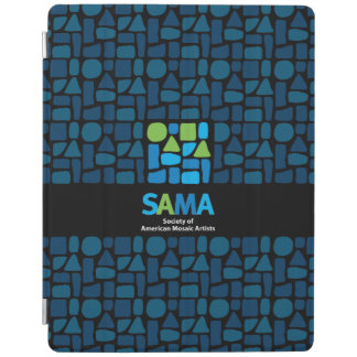 Couverture d'ipad de SAMA - art de mosaïque Protection iPad