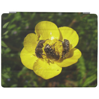 Couverture d'iPad de scarabées d'Oxythyrea Funesta Protection iPad