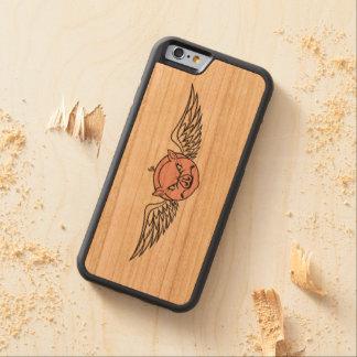 couverture d'iPhone Coque Pare-chocs En Cerisier iPhone 6