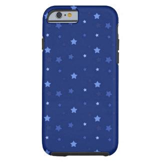 Couverture d'iPhone d'étoile bleue, dure Coque iPhone 6 Tough