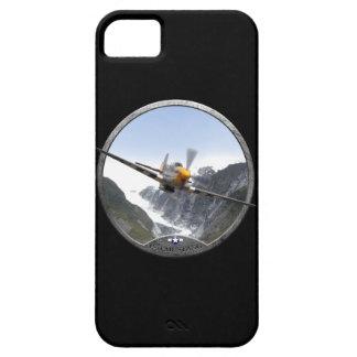 Couverture d'iPhone du mustang P-51 Étui iPhone 5