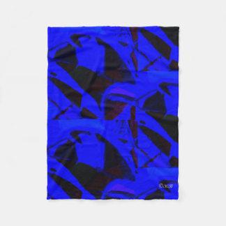 Couverture d'ouatine : Bleu