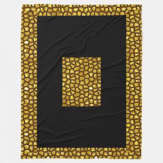 Couverture d'ouatine de fièvre de l'or, grande
